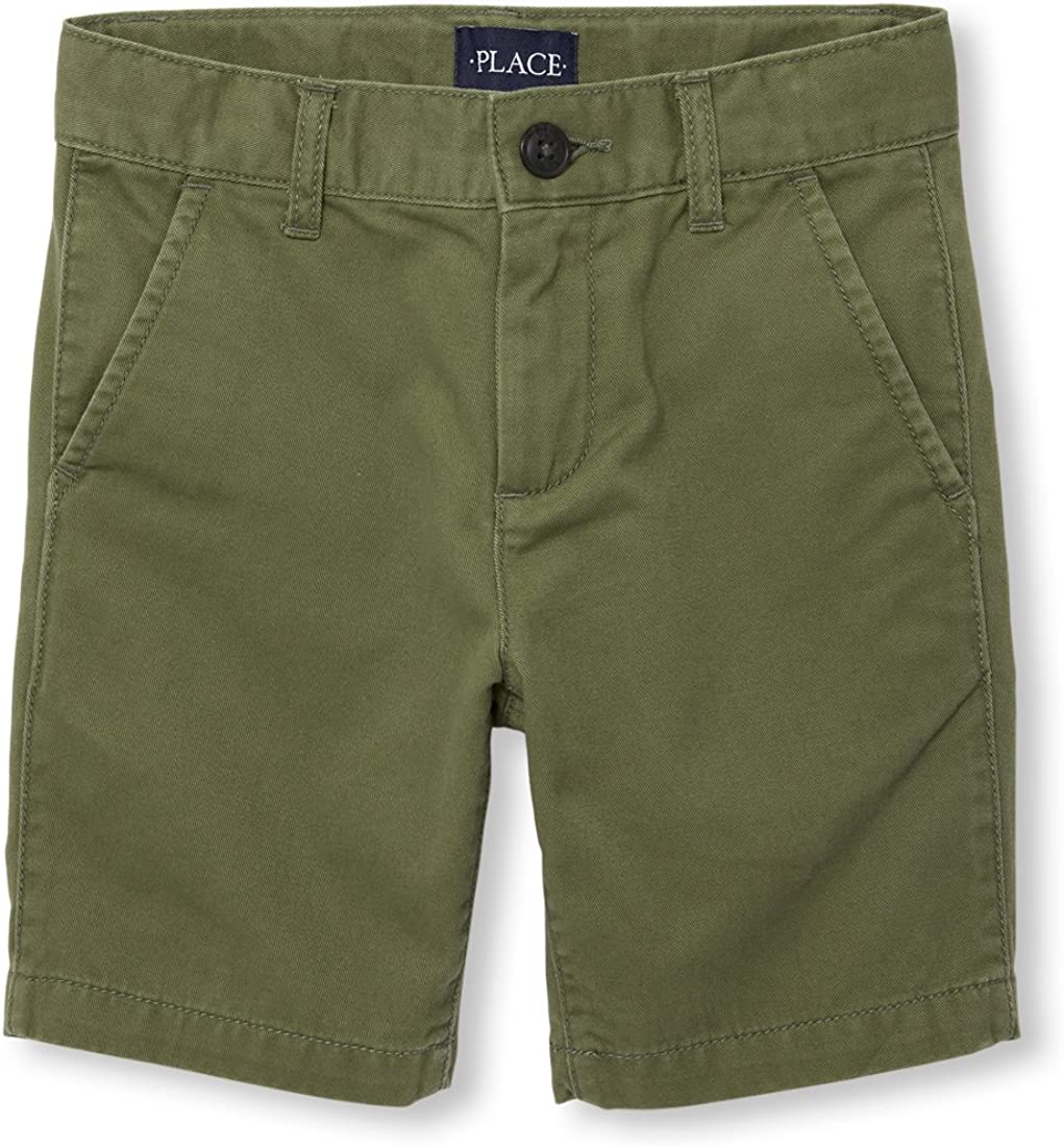 The Childrens Place Boys Printed Chino Shorts