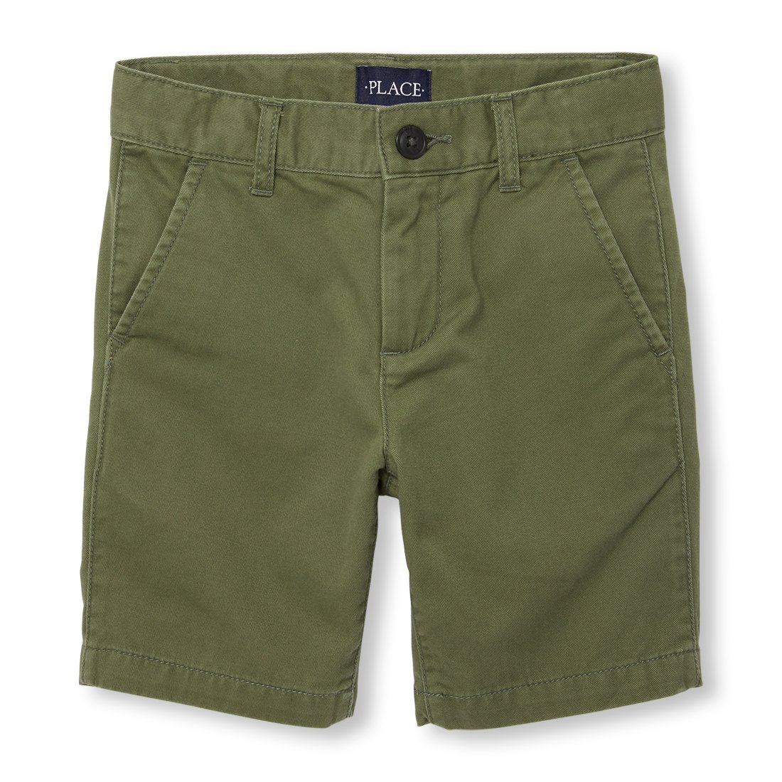 The Children's Place Big Boys' Chino Shorts, DK Stinger 02046, 12