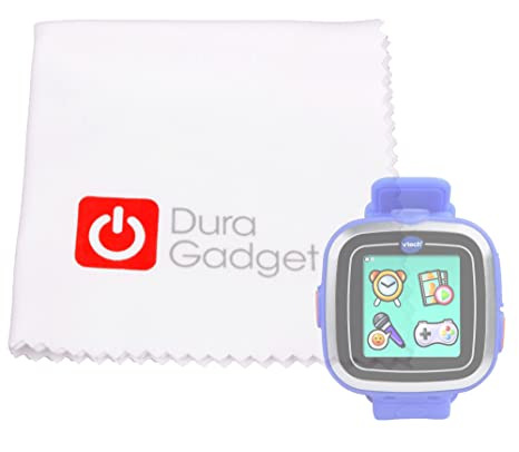 Duragadget Chiffon de nettoyage pour écran de montre connectée Vtech Kidizoom Smart Watch et Smart Watch Plus: Amazon.fr: High-tech