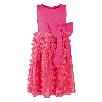Katara – vestido de dama de honor para niña/sin mangas/Con Falda De