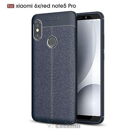 Cocomii Ultimate Armor Xiaomi Redmi Note 5/Note 5 Pro Funda [Robusto] Táctico Patrón De Cuero Sujeción Corte Entallado [Ejército Defensor] Case ...
