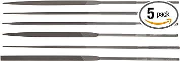 Set of 6 Grobet Swiss Pattern 5-1//2 Cut 2 Needle Files