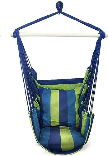 Sorbus Hanging Rope Hammock Chair Swing Seat