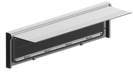 Stormguard 06SR0310000W - Cubierta Cepillo Carta Metal Box Interna Con Solapa - Negro