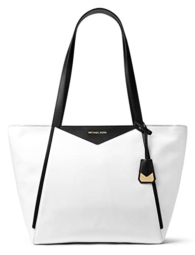 60ab2a4fc37a1f Image Unavailable. Image not available for. Color: MICHAEL Michael Kors  Whitney Medium Pebble Leather Tote Bag ...
