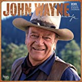Image for John Wayne 2021 12 x 12 Inch Monthly Square Wall Calendar with Foil Stamped Cover by Faces, USA American Actor Celebrity…