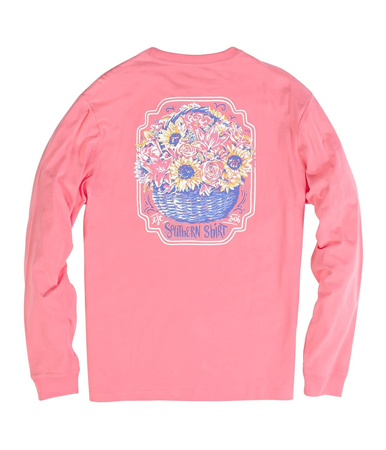 Southern Shirt Company Basket of Flowers Long Sleeve Tee