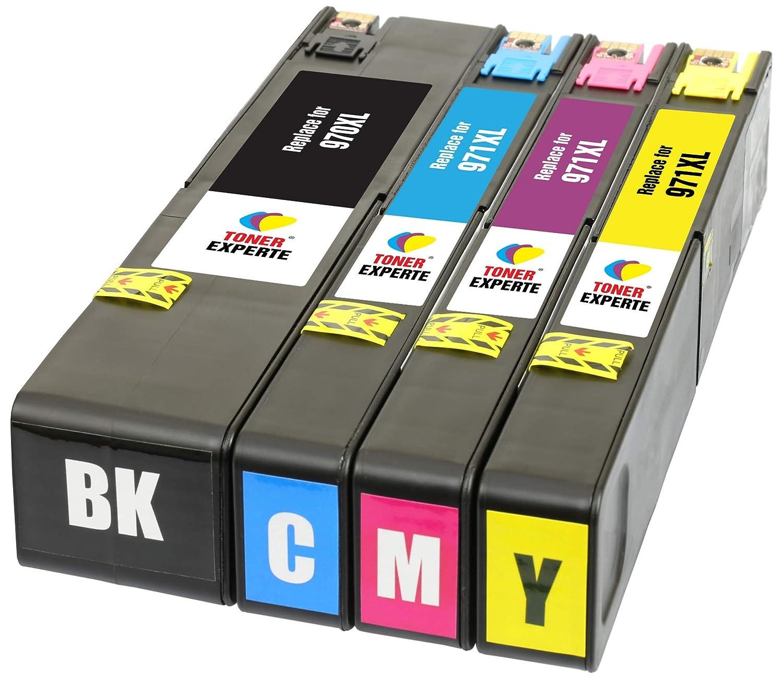 TONER EXPERTE® 4 XL Cartuchos de Tinta compatibles con HP 970XL ...