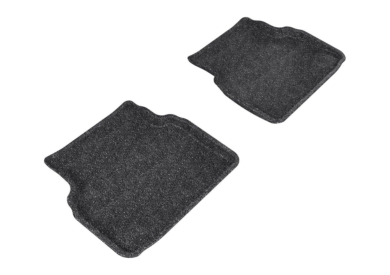 3D MAXpider Second Row Custom Fit Floor Mat for Select Subaru Impreza Models L1SB01022202 Tan Classic Carpet