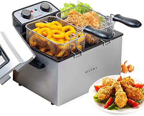 Secura Electric Deep Fryer 1800W