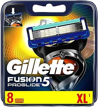 Gillette Fusion ProGlide Power Cuchillas de afeitar para hombres 8 ...
