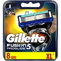 Gillette Fusion5 Proglide Power Scheermesjes, 8 Navulmesjes, Met Flexball Technologie