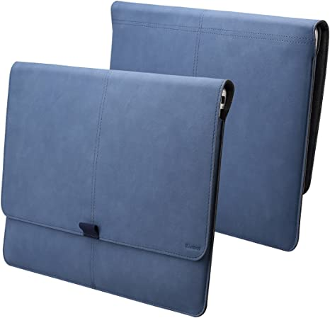 "Microsoft Surface Pro Case 12.3/"" Laptop Sleeve Bag Wallet Carrying Blue"