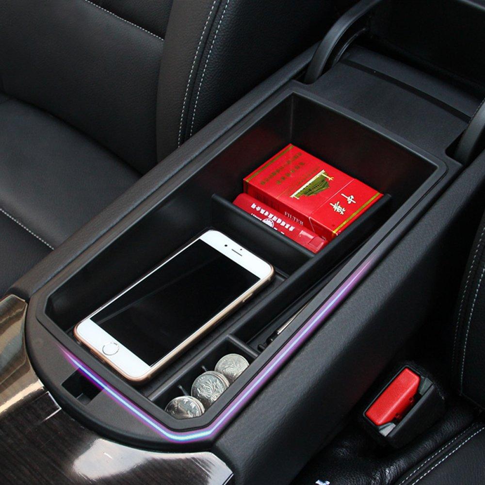 etopmia Car Center Consoles Storage Box fit BMW X3 X4 F25 F26,Auto Glove Box Organizers