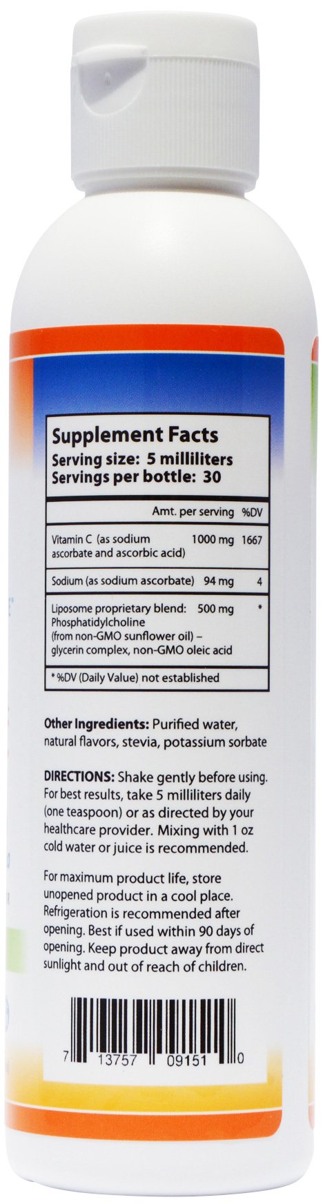 Nutrient Tree Liposomal Vitamin C (3 Pack) | Alcohol Free | Non-Soy | Non-GMO | Made in USA by Nutrient Tree (Image #2)