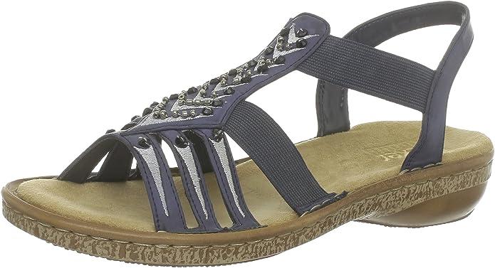 Rieker 62861 Damen Sandalen: : Schuhe & Handtaschen GWzxW