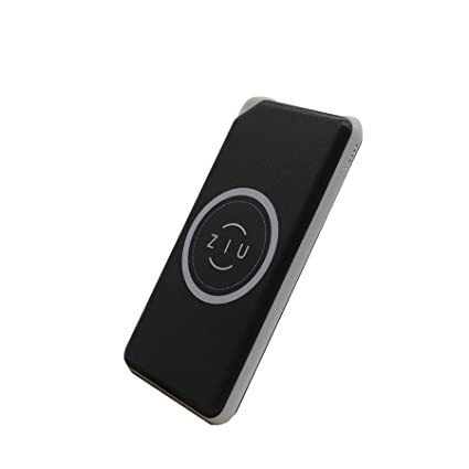 Ziu Smart Items Power Bank Qi - Cargador inalámbrico (6000 mAh, Compatible con Todos