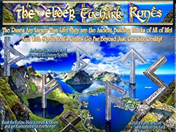 Amazon com: Elder Futhark Inscribed Old Norse Rune Song Fine Silver