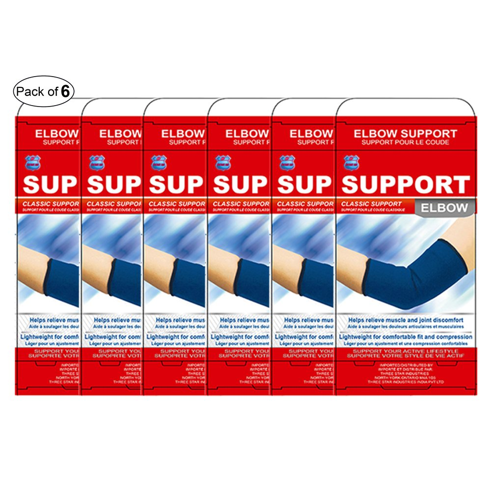 Instant Aid Elbow Support (Pack of 6) by Instant Aid ®