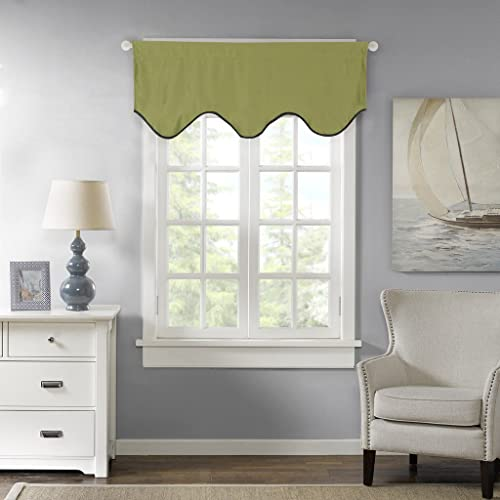H.VERSAILTEX Thermal Insulated Curtain Valances Kitchen, Bath, Laundry,  Bedroom, Living
