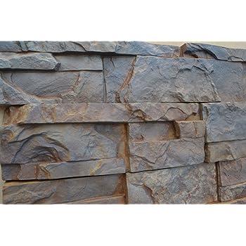 Rubber Mold. Concrete Veneer Paver. Old Brick Stone 611//1 GlobMarble Rubber Mold BS 611//1