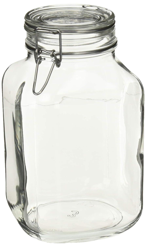 Bormioli Rocco SYNCHKG077327 Canning Jar, 3 Liter, glass