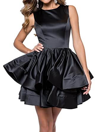 Aurora Bridal Womens Ball Gown 2018 Homecoming Dresses for Juniors Short Formal Prom Dress AH031 at Amazon Womens Clothing store:
