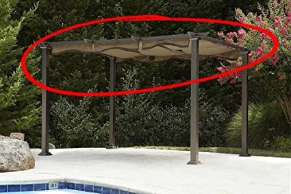 Image Unavailable - Amazon.com : The Outdoor Patio Store Pergola Canopy Top For 2013