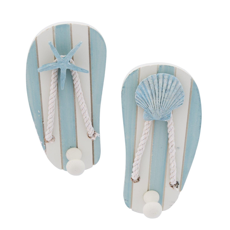 Beachcombers SS-BCS-00541 2/A Sandal Hooks, 5.5 x 3 x 1.75
