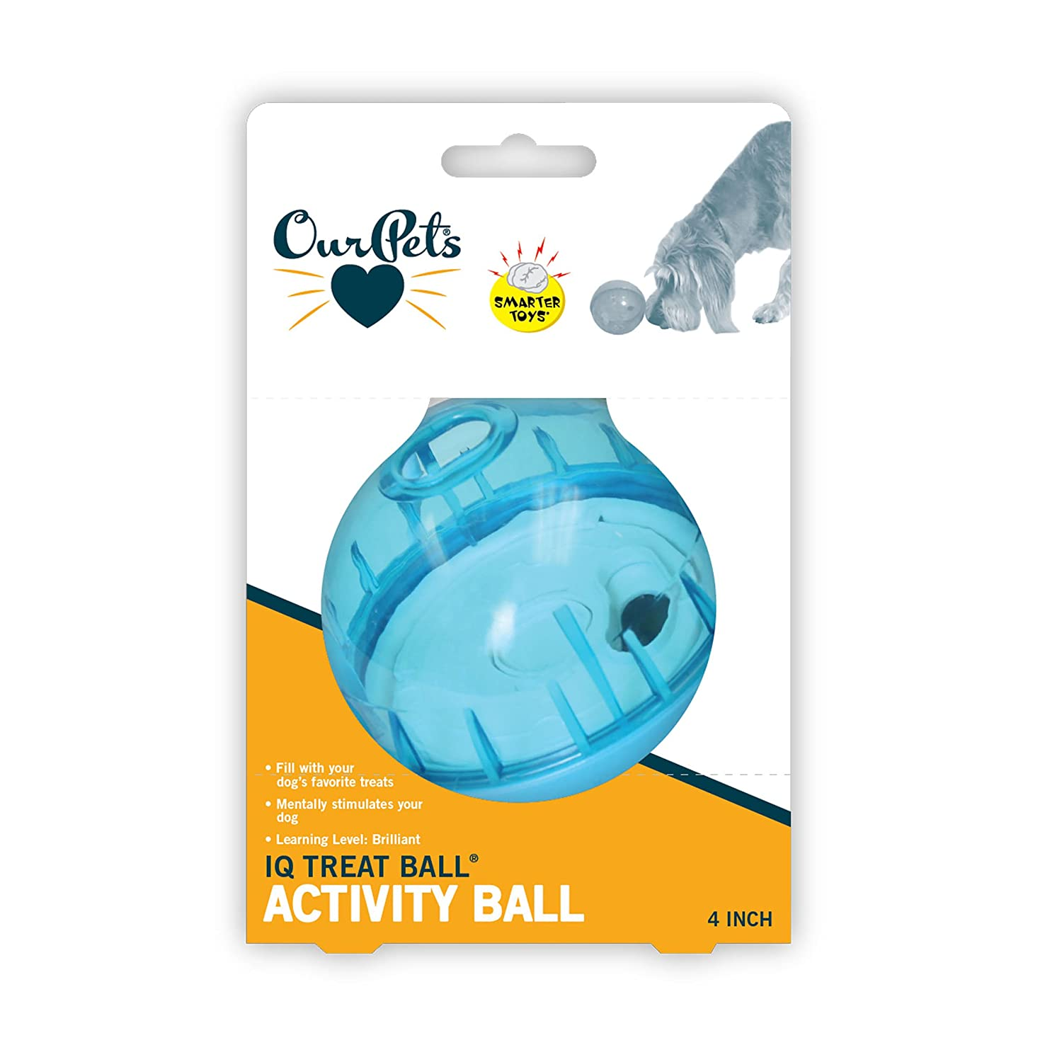 Pet Supplies Pet Toy Balls OurPets IQ Treat Ball Interactive