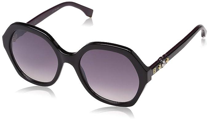Fendi FF 0270/S OE 807 56 Gafas de sol, Negro (Black Pink ...