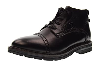 17885 Black Stringed Shoes