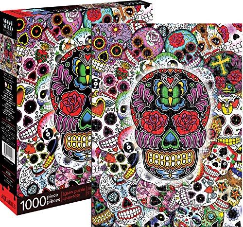 Aquarius Sugar Skulls 1000 Piece Jigsaw Puzzle