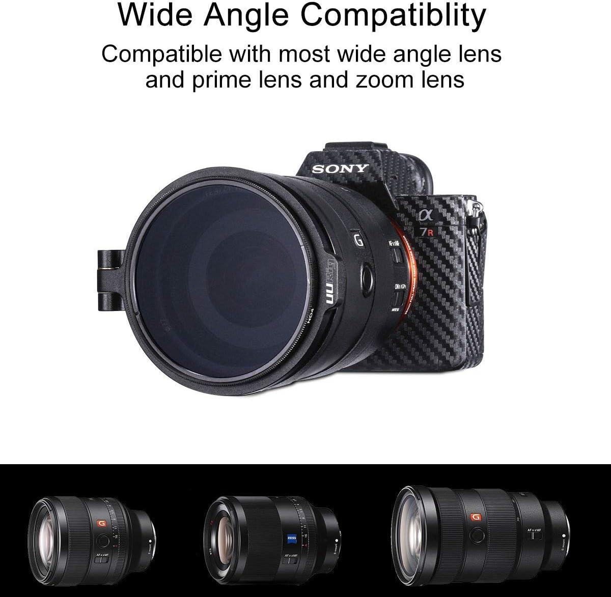 Rapid Filter System 72 auf 82 mm Filterhalter Adapter Ring Quick Switch Kamera Objektiv