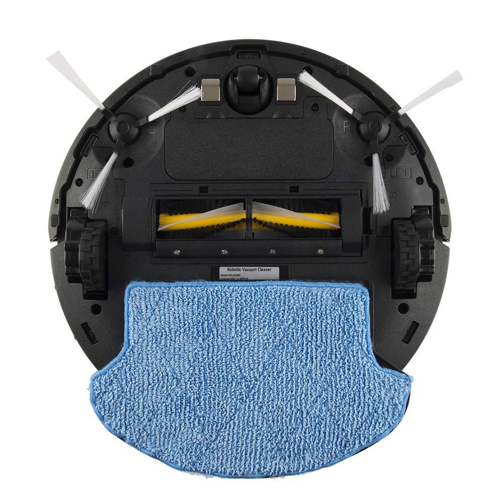 Amibot Flex H2O - Robot aspirador y limpiador, 200 m2 en 2 h o 70 m2 en 1h con H2O modo , 11 sensores, 4 modos de limpieza + 1 automático,: Amazon.es: Hogar