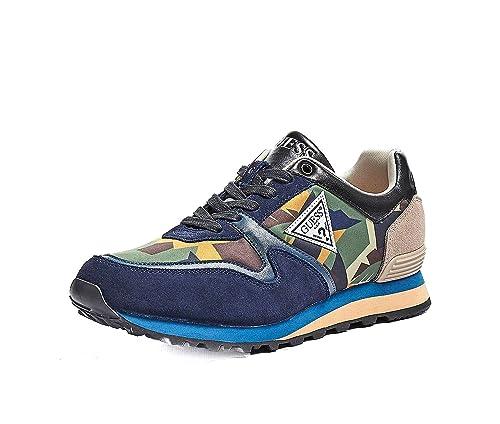 GUESS Zapatillas Hombre New Charlie Talla 42 - FM5NCHFAP12: Amazon.es: Zapatos y complementos