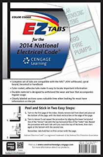 Nfpa 70 national electrical code nec 2014 edition color coded ez tabs for the 2014 national electrical code fandeluxe Gallery