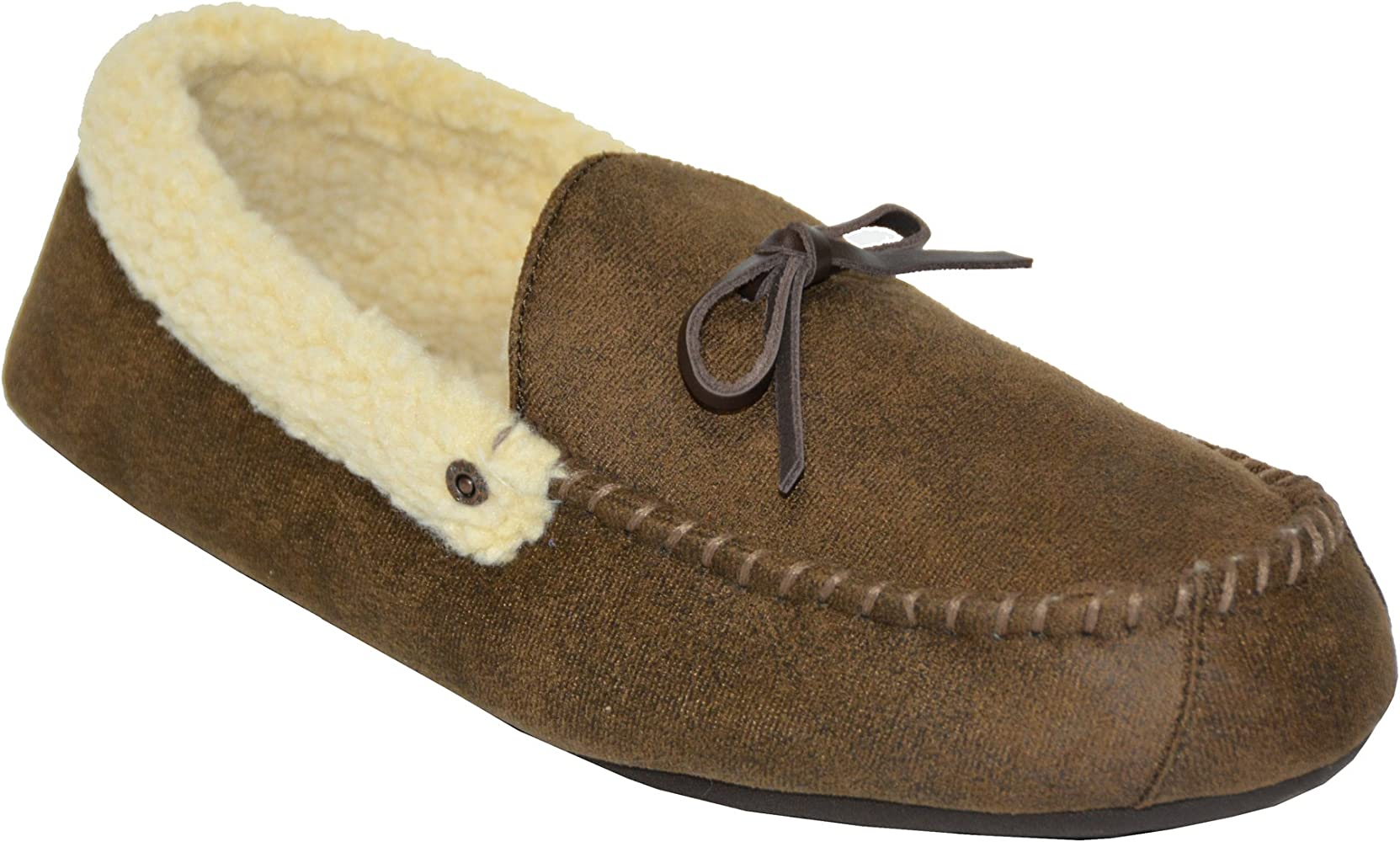 e0f9f95a Amazon.com | Signature Levi Strauss & Co Men's Slipper Aviator (M(9/10),  Brown) | Slippers
