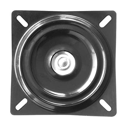 MySit 7u0026quot; Bar Stool Swivel Plate Replacement, Square Swivel Mechanism  For Recliner Chair Or