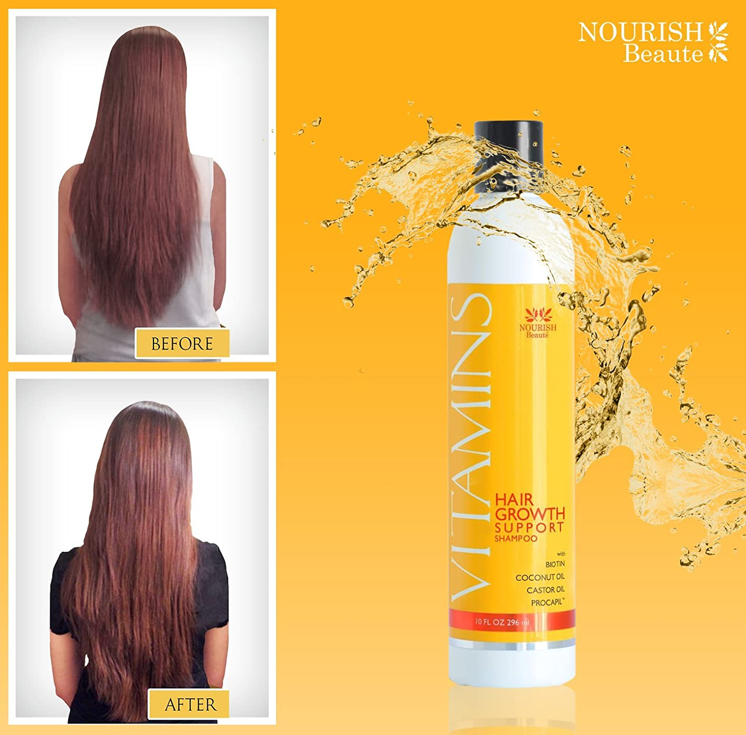 Amazoncom Vitamins Hair Loss Shampoo  Regrowth And - How much biotin to take for hair growth