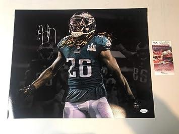 c7b7af2a14c Jay Ajayi Autograph Autographed Signed Eagles Super Bowl Lii ...