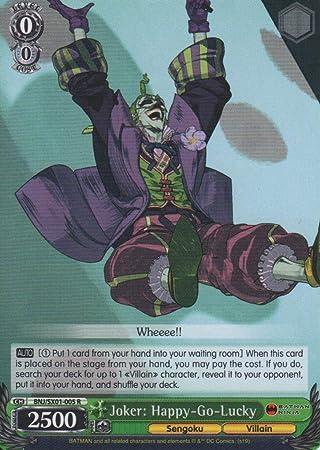 Amazon.com: Weiss Schwarz - Joker: Happy-Go-Lucky - BNJ/SX01 ...