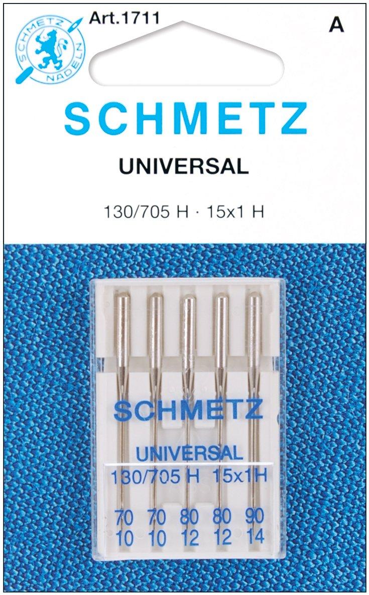 12//80 2 2 Universal Machine Needles-Sizes 10//70 1 /& 14//90