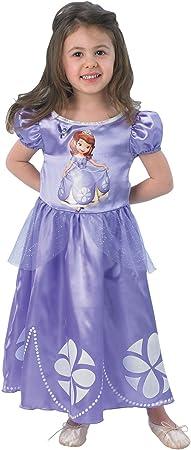Sofia The First Disney Princess Girls Fancy Dress Child Kids Fairytale Costume