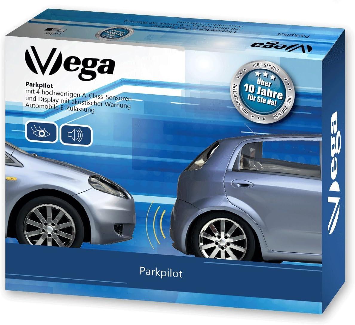 VEGA R4S Aider Syst/ème Parking avec /écran Couleur et Beeper int/égr/é//Comprend 4/capteurs de Couleurs et Motifs Assortis