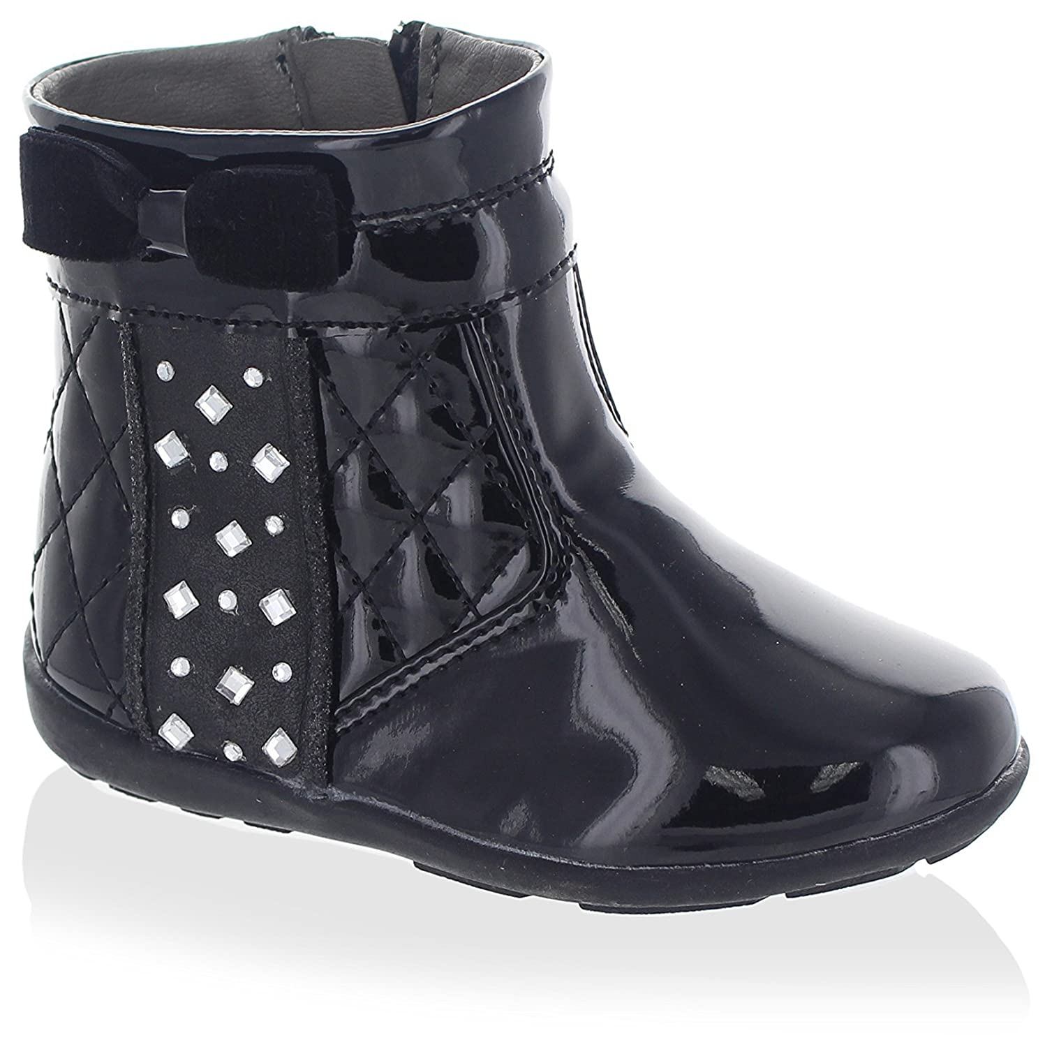Laura Ashley Kids Quilted Bootie