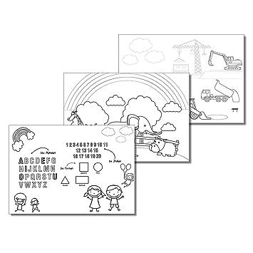 DinA3 Malblock für Kinder | dv_103 | 30 Blatt | 3 Motive zum ...