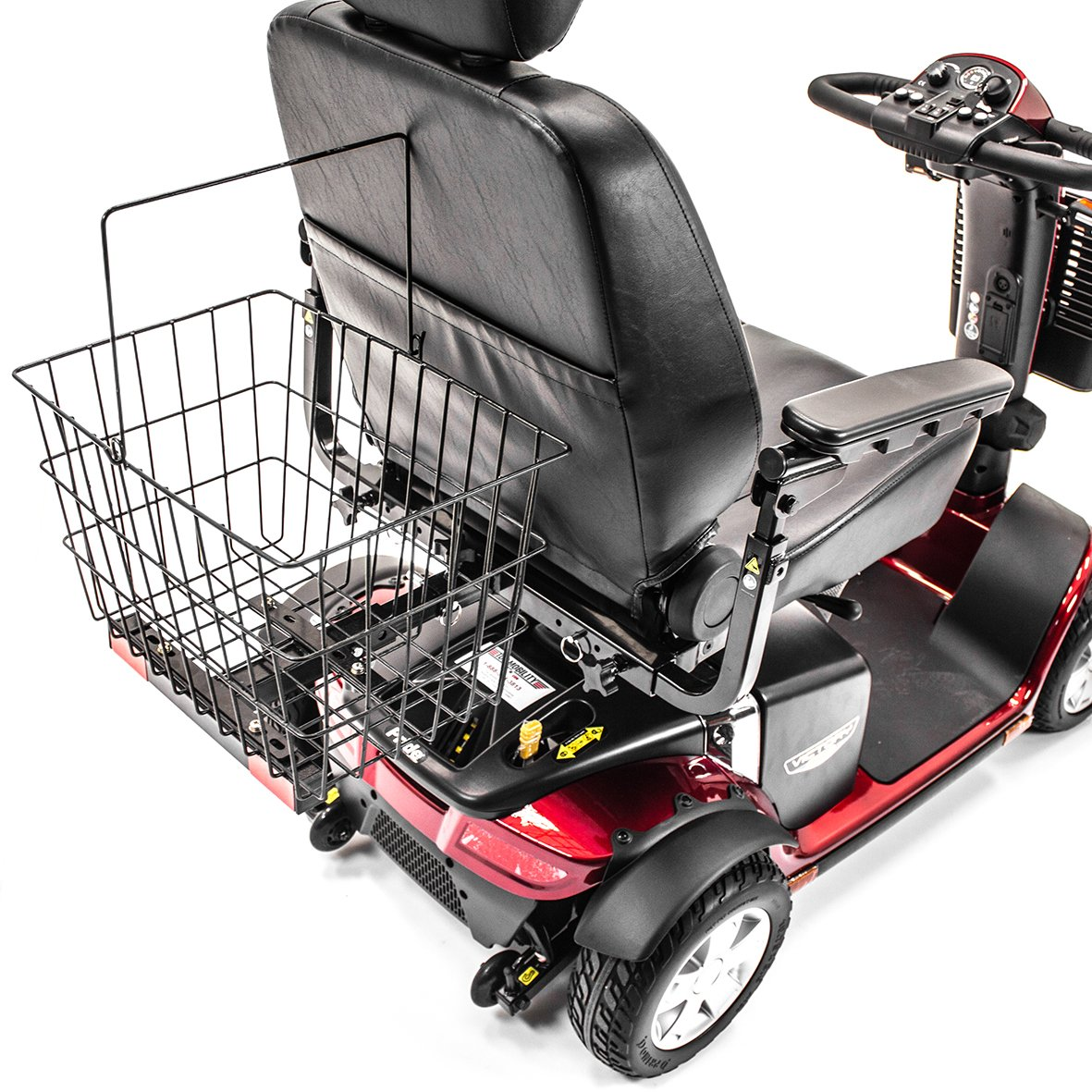 Challenger Mobility J900 Large Rear Basket for Most Drive Medical Cobra, Phoenix, Prowler, Scout, Spitfire & Ventura Mobility Scooters