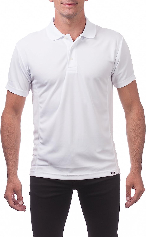 Pro Club Men's Performance Drypro Short Sleeve Polo