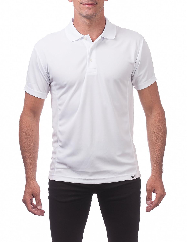 Pro Club Mens Performance Drypro Short Sleeve Polo
